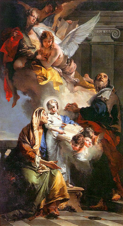 Sant 39 anna e san gioacchino - Chi ha dipinto il bagno turco ...