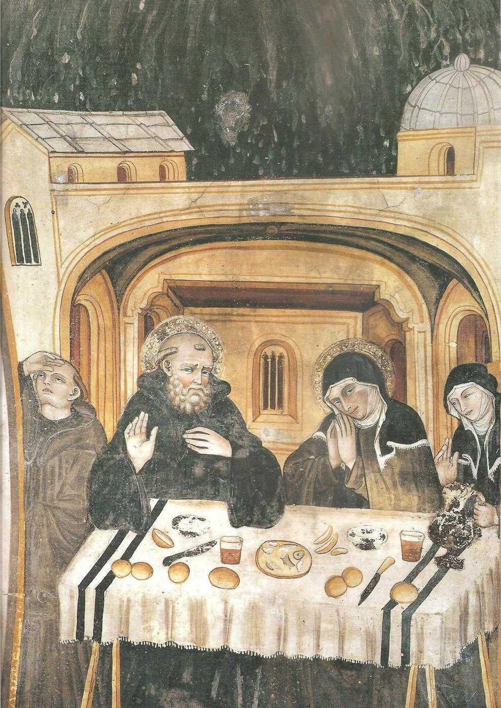 S gregorio magno la vita di san benedetto dal libro ii - Vi metto a tavola san benedetto ...